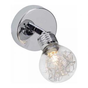 Brilliant Wandlamp Bulb Chroom 21210/15