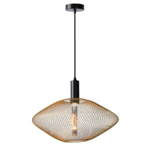 Lucide Hanglamp Mesh Messing 21423/45/02