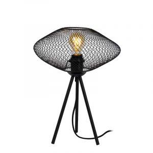 Lucide Tafellamp Mesh Zwart 21523/01/30