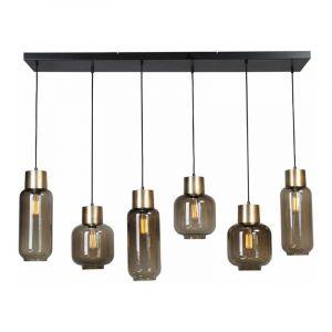 Masterlight Hanglamp Lett Goud 2161-02-05G-130-25-6