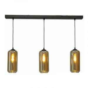 Masterlight Hanglamp Quinto Zwart 2261-05-100-3-05-5