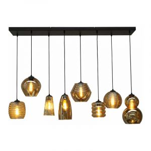 Masterlight Hanglamp Quinto Zwart 2261-05-130-25-8-05