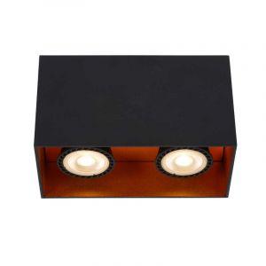 Lucide Spotlamp Bido 2-lichts Zwart 22966/02/30