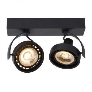 Lucide Spotlamp Dorian 2-lichts Zwart 22968/24/30