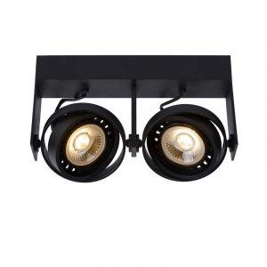 Lucide Spotlamp Griffon 2-lichts Zwart 22969/24/30