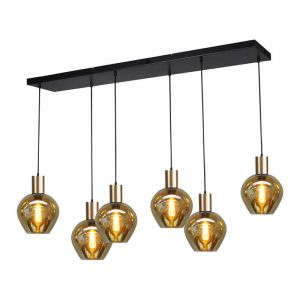 Masterlight Hanglamp Bounty Zwart 2471-05-02-130-25-63
