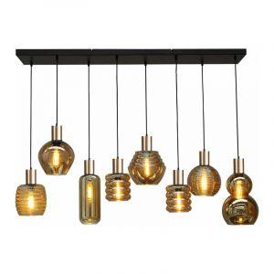 Masterlight Hanglamp Bounty Zwart 2471-05-02-130-25-8