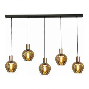 Masterlight Hanglamp Bounty Zwart 2471-05-02-130-5-3