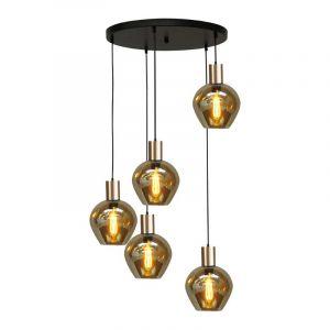 Masterlight Hanglamp Bounty Zwart 2472-05-02-50-5-3