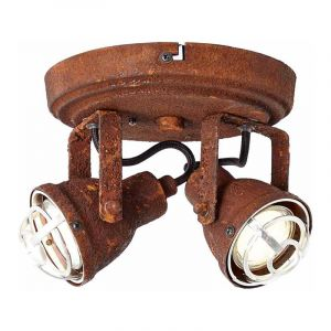 Brilliant Plafondlamp Bente Roest 26324/60