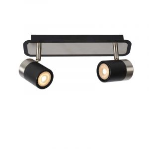 Lucide Spotlamp Lennert 2-lichts Zwart 26957/10/30
