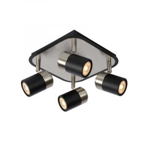 Lucide Spotlamp Lennert 4-lichts Zwart 26957/20/30