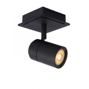 Zwarte Lennert spotlamp van Lucide met LED verlichting