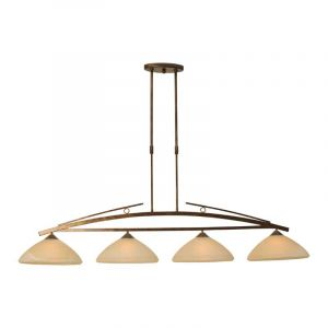 Masterlight Hanglamp Bolzano Koper 2939-21-34