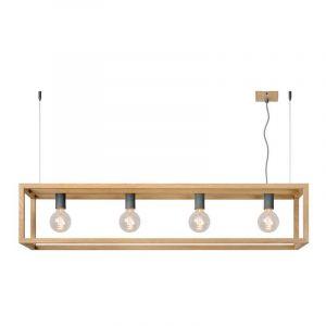 Lucide Hanglamp Oris Hout 31472/04/72