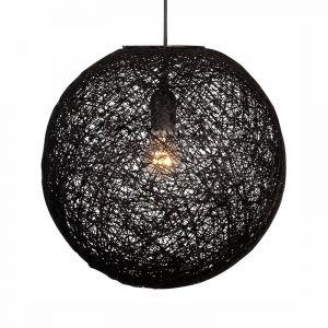 Hanglamp Abaca 45cm Zwart 31545002