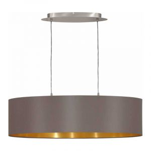 Eglo Hanglamp Maserlo Nikkel 31614