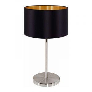 Eglo Tafellamp Maserlo Nikkel 31627