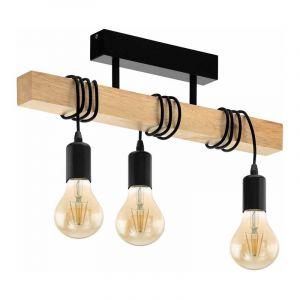 Eglo Plafondlamp Townshend Zwart 32915