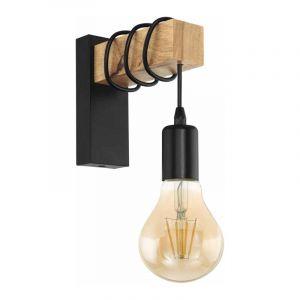 Eglo Wandlamp Townshend Zwart 32917