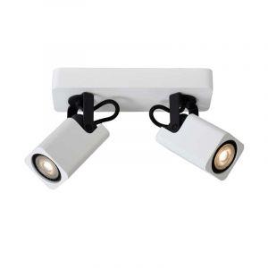 Lucide Spotlamp Roax 2-lichts Wit 33961/10/31