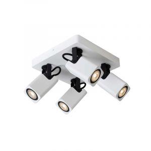 Lucide Spotlamp Roax 4-lichts Wit 33961/20/31