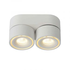 Lucide Spotlamp Yumiko 2-lichts Wit 35911/16/31