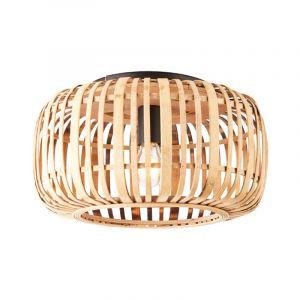 Brilliant Plafondlamp Woodrow Bruin 97167/20