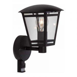 Brilliant Wandlamp met sensor Riley Zwart 42397/06