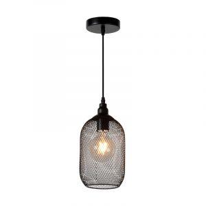 Lucide Hanglamp Mesh Zwart 43404/15/30
