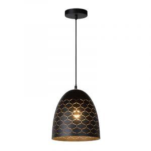 Hanglamp Galla zwart van Lucide