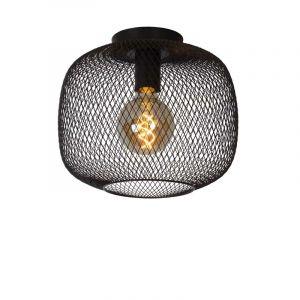 Lucide Plafondlamp Mesh Zwart 45185/30/30