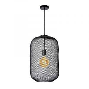 Lucide Hanglamp Mesh Zwart 45385/35/30