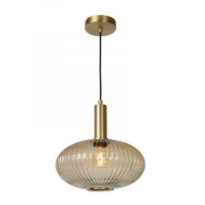 Lucide Hanglamp Maloto Amber 45386/30/62