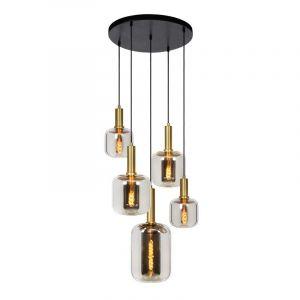 Lucide Hanglamp Joanet Gerookt 45494/15/65