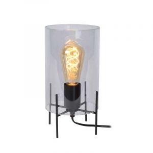 Lucide Tafellamp Steffie Gerookt 45566/01/65