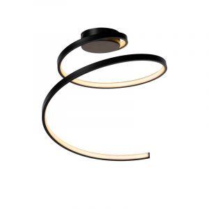Lucide Plafondlamp Maxence Zwart 46199/25/30