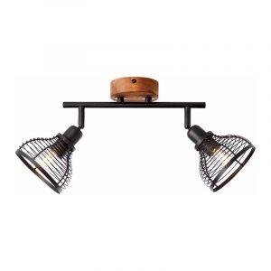 Brilliant Plafondlamp Avia Zwart 47713/76
