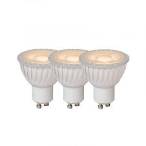 3x Lucide LED Reflectorlamp (PAR16) Wit GU10 5 Watt