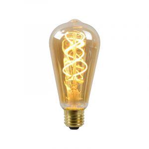Lucide Filament LED Rusticalamp (ST64) Amber E27 5 Watt