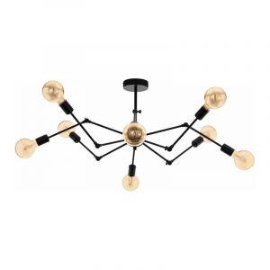 Eglo Hanglamp Exmoor Zwart 49037