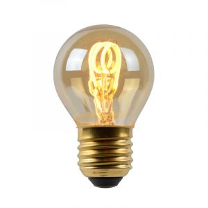 Lucide Filament LED Kogellamp (P45) Amber E27 3 Watt
