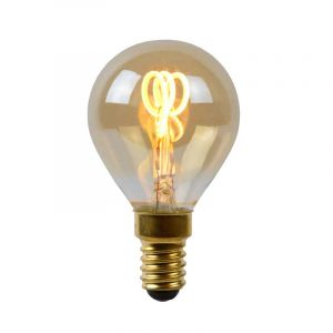 Lucide Filament LED Kogellamp (P45) Amber E14 3 Watt