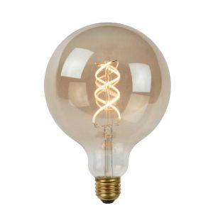 Lucide LED Globelamp (G125) Gerookt E27 5 Watt