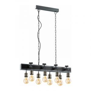 Eglo Hanglamp Goldcliff Zilver 49099