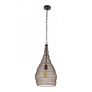 Eglo Hanglamp Colten Koper 49132
