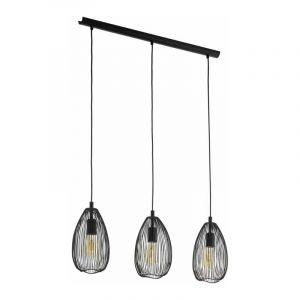 Eglo Hanglamp Clevedon Zwart 49142