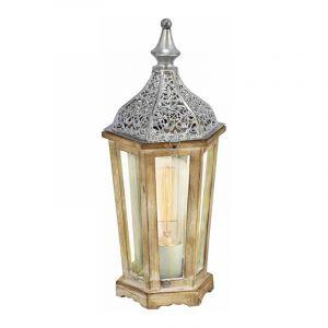 Eglo Tafellamp Kinghorn Zilver 49277
