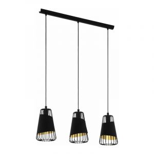 Eglo Hanglamp Austell Zwart 49448