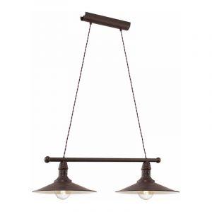 Eglo Hanglamp Stockbury Bruin 49457